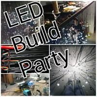 Idle Hands : Help build a light sculpture of grand...