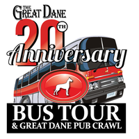 The Great Dane's 20th Anniversary Bus Tour