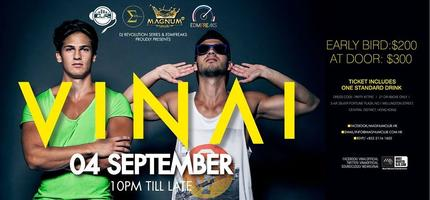 (4 SEP) DJ Revolution Vol.9: VINAI @MAGNUM CLUB
