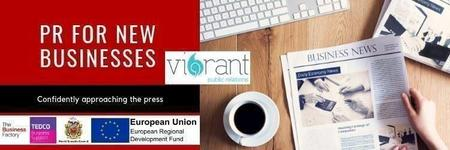 PR for New Businesses | Tuesday 1st Oct at 9.30am