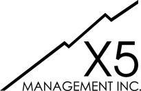 X5 Management Inc. logo