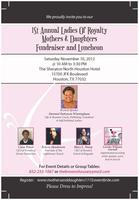 1st ANNUAL LADIES OF ROYALTY MOTHERS AND DAUGHTERS...