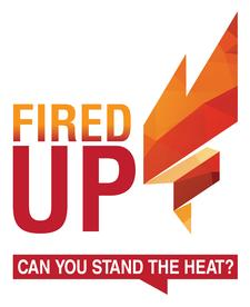 FIRED UP! logo