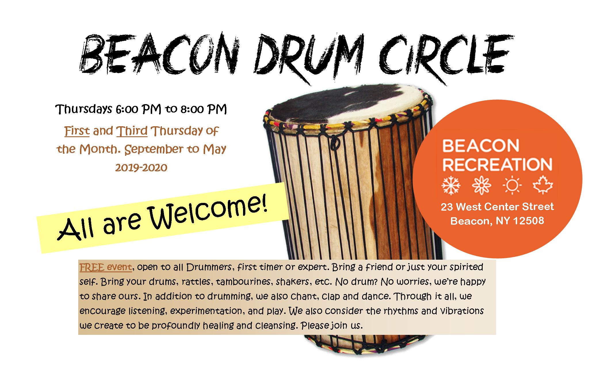 Thursday Night Beacon Drum Circle