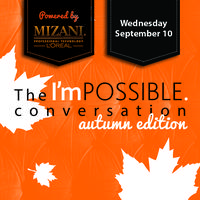 The I'mPOSSIBLE conversation autumn edition