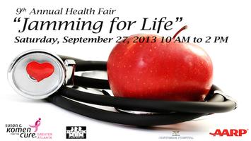 """Jamming for Life""  - Annual Health Fair"