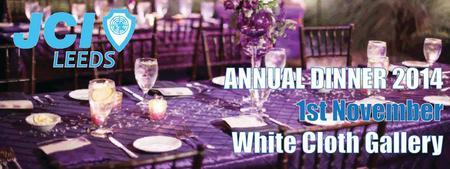 JCI Leeds' Annual Dinner 2014