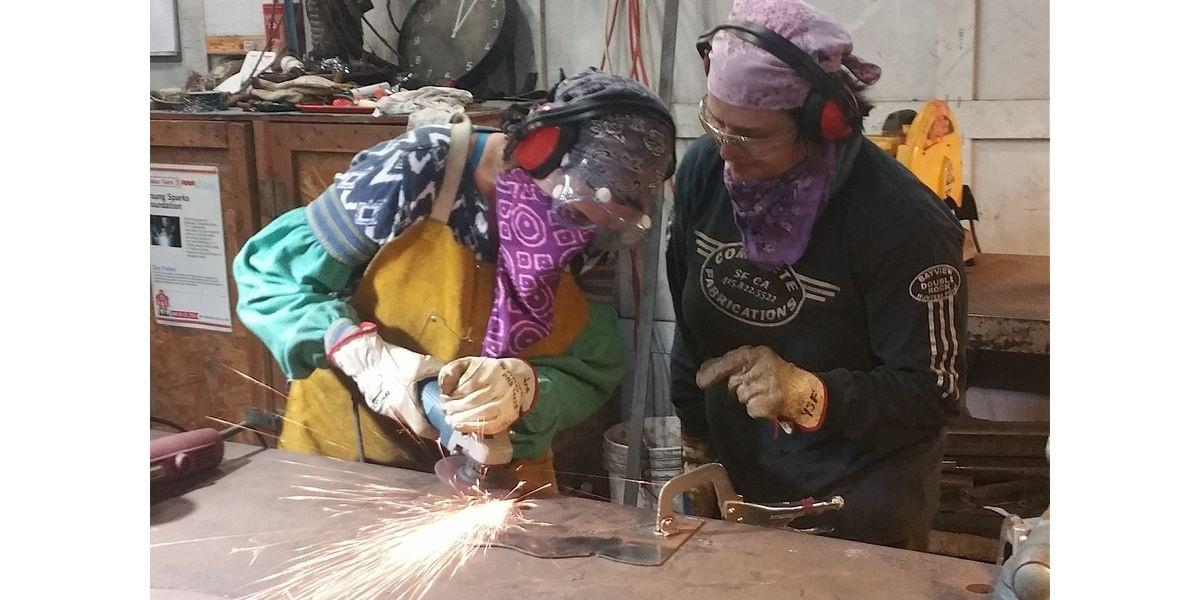 WELDING & Shop Basics [3.5 Hrs] (10-18-2020 starts at 11:30 AM)