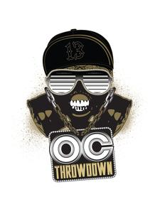 The OC Throwdown logo