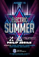 Electric Summer Guestlist closes at 10pm!!!