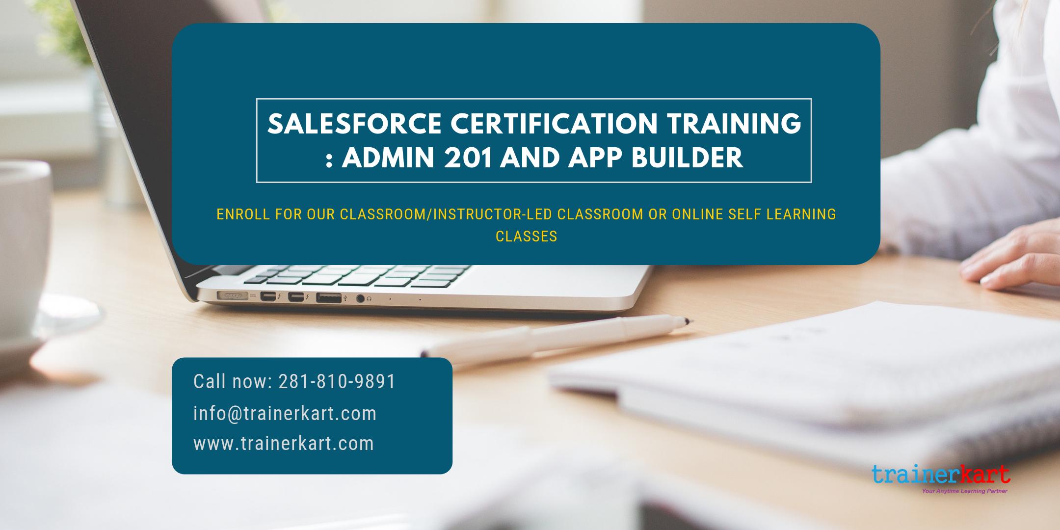 Salesforce Admin 201 & App Builder Certification Training in Kelowna, BC