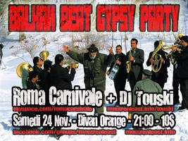 Balkan Beat Gypsy Party avec Roma Carnivale