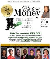 Madam Money's Financial Boot Camp Webinar