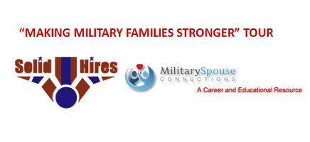 """SolidHire/MSC """"Making Military Families Stronger""""..."""