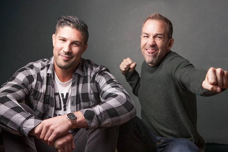 Mello Comedic Bryan Callen, Brendan Schaub, Andrew Santino, Erik Griffin