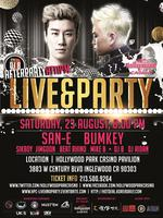 BUMKEY & SANE @ HOLLYWOOD PARK CASINO