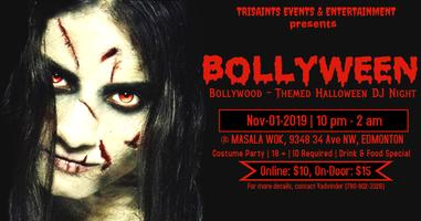 BOLLYWEEN  (Bollywood-Themed  Halloween DJ Night)