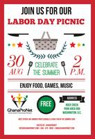 Free, Fun, & Friendly: GhanaProNet Labor Day Picnic