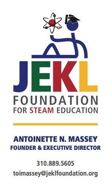 The JEKL Foundation for STEAM Education logo