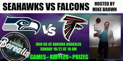 SEAHAWKS @ FALCONS hosted by Mike Brown