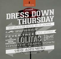 Dress Down Thursday - A celebration of british craft...