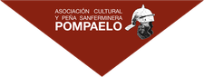 Asociación cultural y peña sanferminera Pompaelo logo
