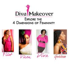 The Diva Makeover logo