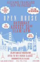 OPEN HOUSE AT THE FRENCH ALLIANCE