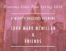 THE JOHN MARK MCMILLAN ECONOMY CLASS 2012 TOUR logo