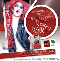 6th Annual Red Party - Tickets available at the door