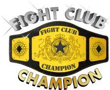 FIGHT CLUB CHAMPION logo