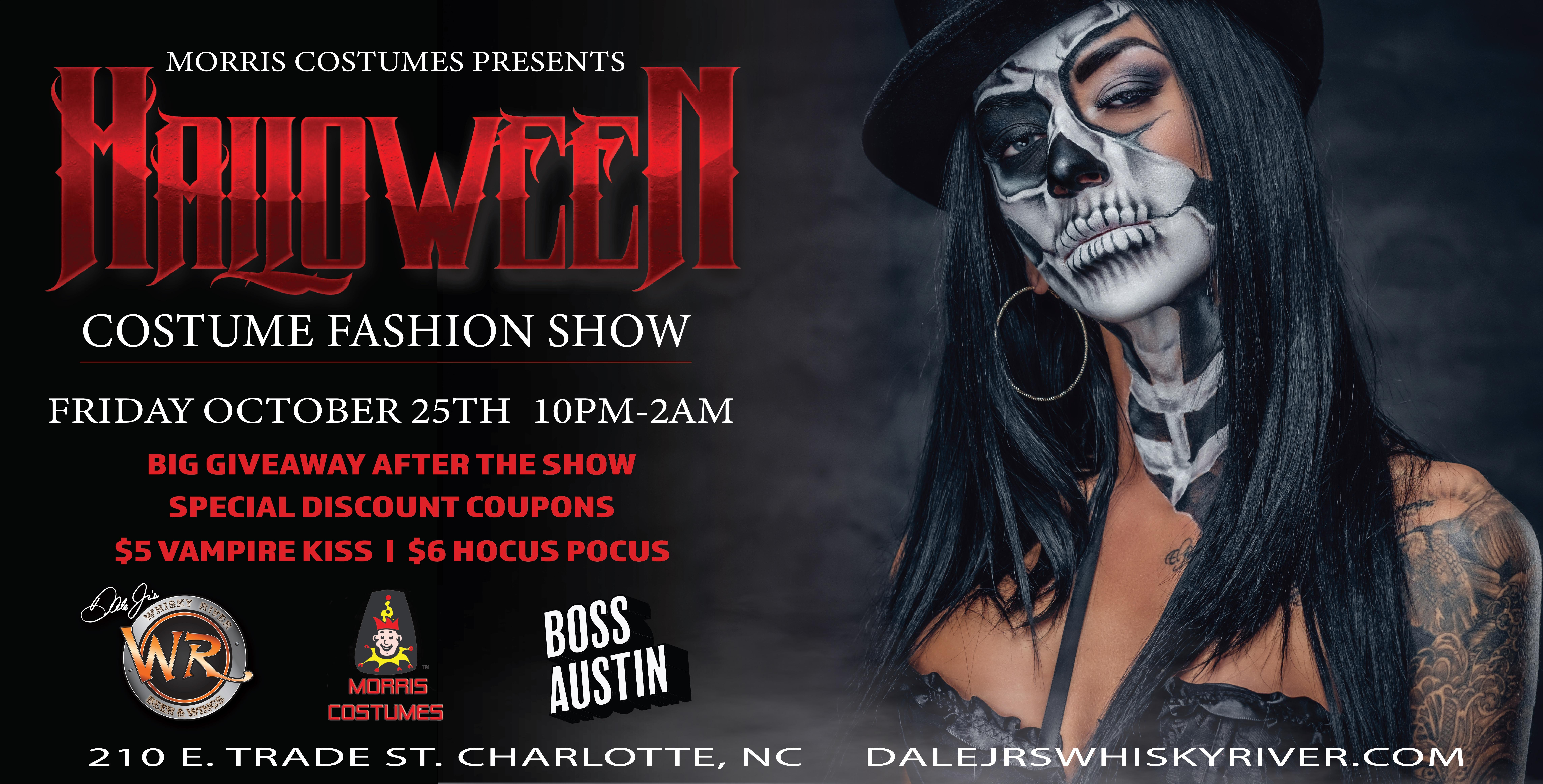 Halloween Fashion Show: Presented by Morris Costumes