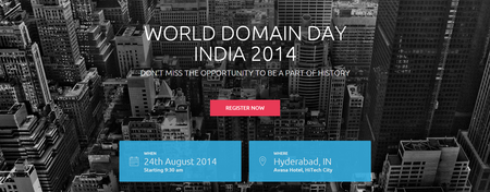World Domain Day [WDD.2014]