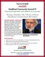 Healthiest Community Summit IV: Why Living Wages...