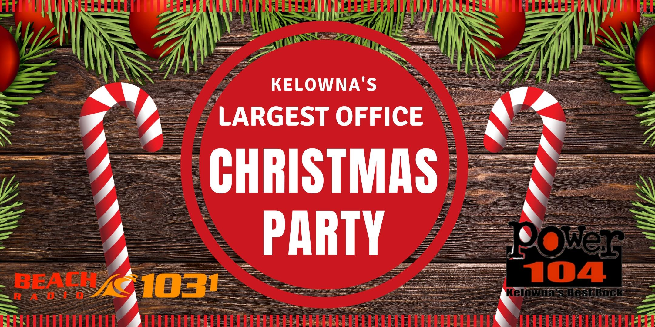 Kelowna's Largest Office Christmas Party - LUNCH