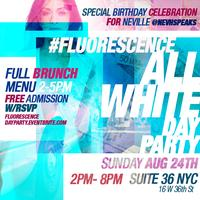 Fluorescence: All White Day Party