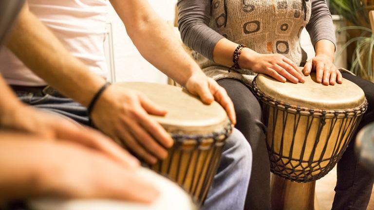 Social Drumming Program: Mascot