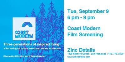 Coast Modern Film Screening