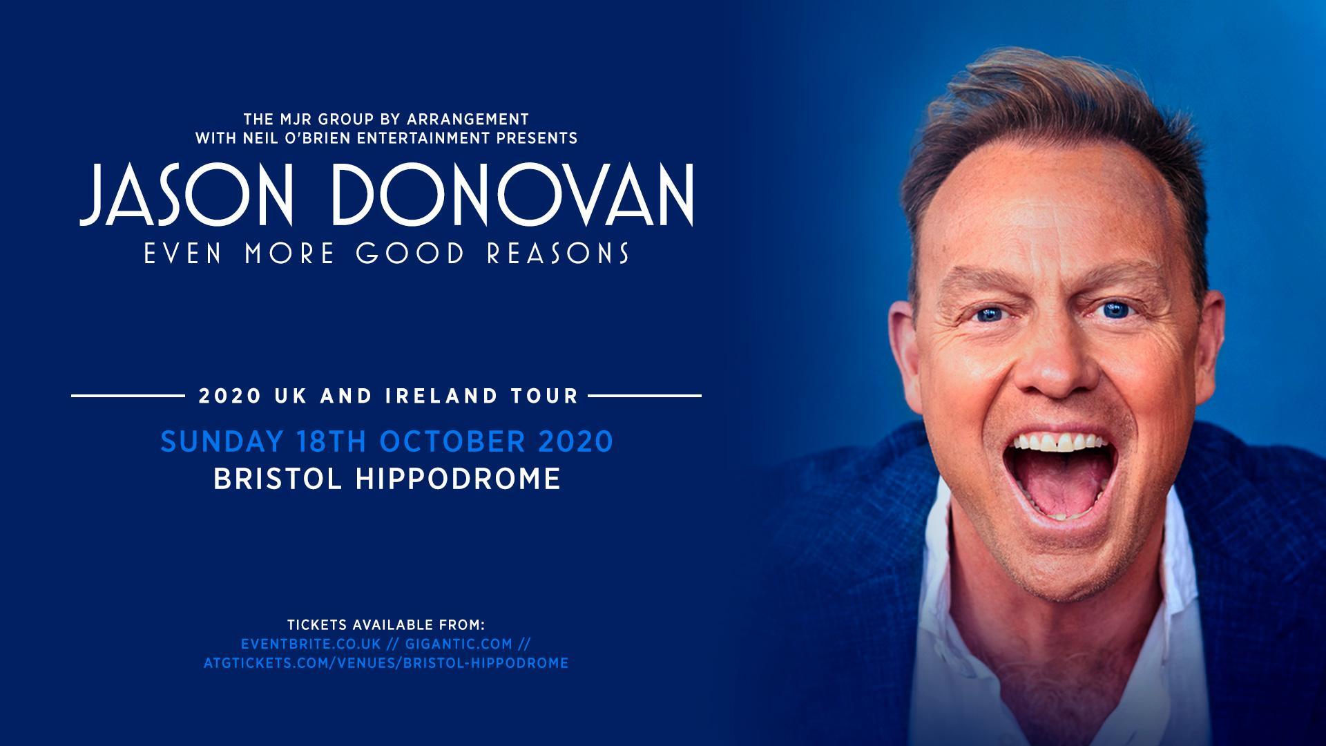 Jason Donovan 'Even More Good Reasons' (Hippodrome, Bristol)