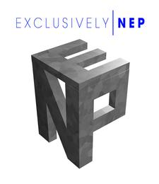 Exclusively N.E.P logo