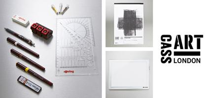 Cass Art and the London Design Festival Prize Draw 2014