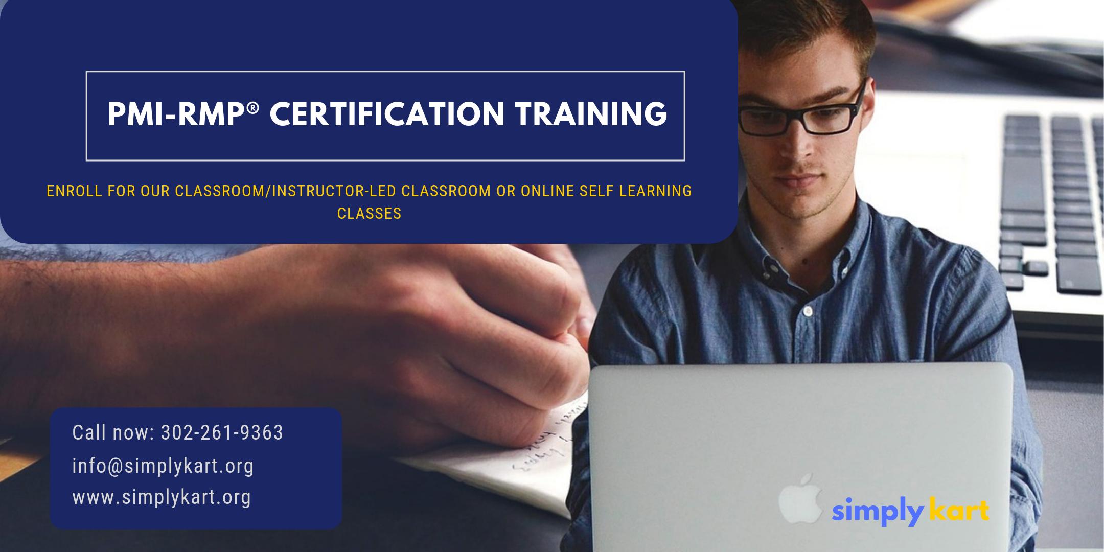 PMI-RMP Certification Training in Esquimalt, BC