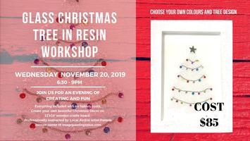 Runescape Christmas Event 2019.Glass Christmas Tree In Resin Workshop