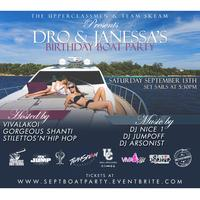 Dro & Janessas' BDay Boat Party