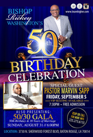 Bishop Rickey Washington's 50th Birthday Celebration