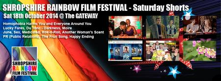 Shropshire Rainbow Film Festival - Saturday Shorts...