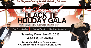Black Tie Holiday Gala