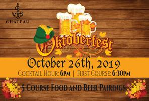 Oktoberfest at the Château: 5 Course Dinner & Beer...
