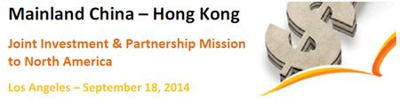 Mainland China - Hong Kong Joint Investment &...