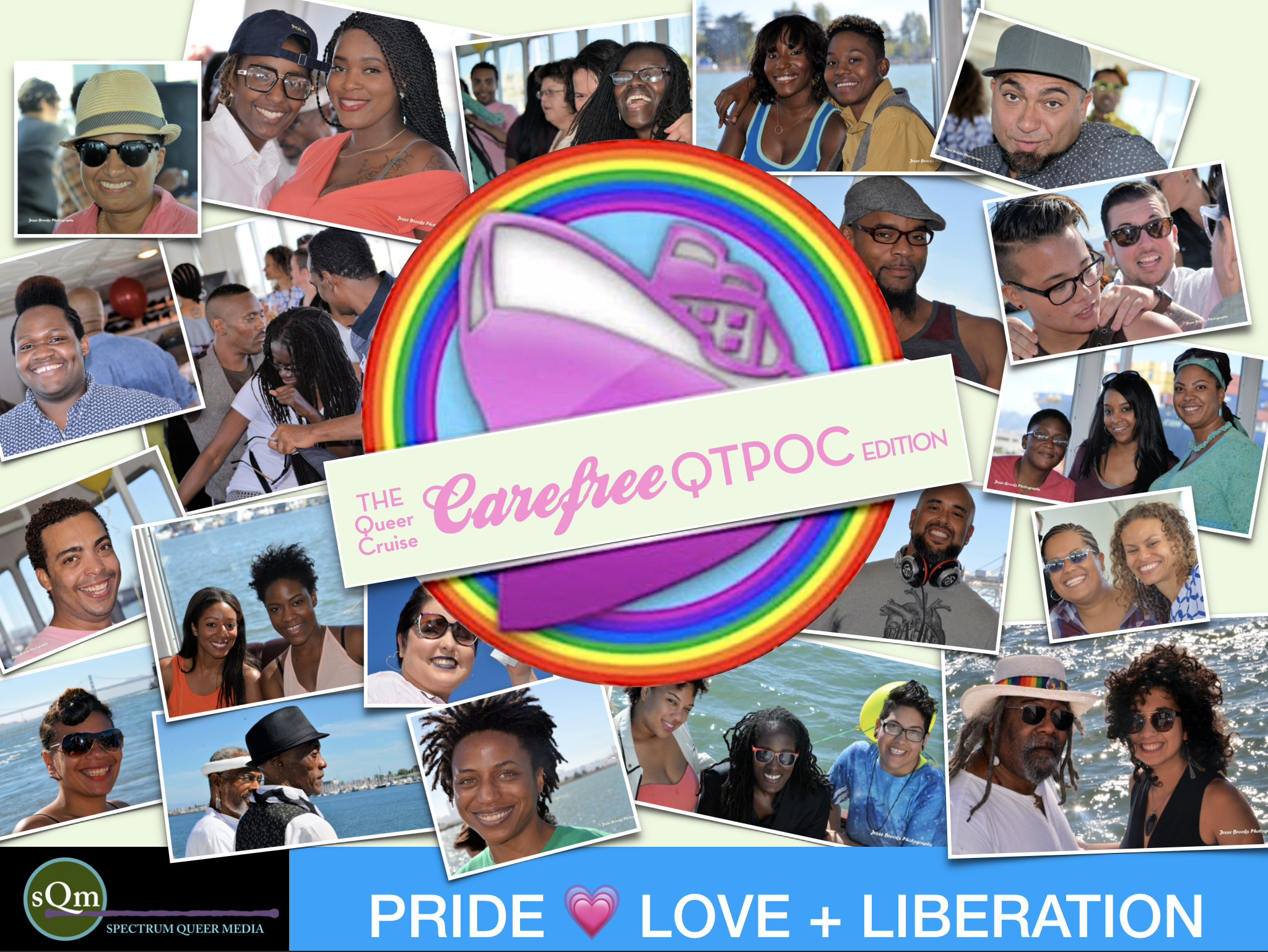 Welcome Aboard BON VOYAGE TOAST on The QUEER Cruise: QTPOC + Ally Edition